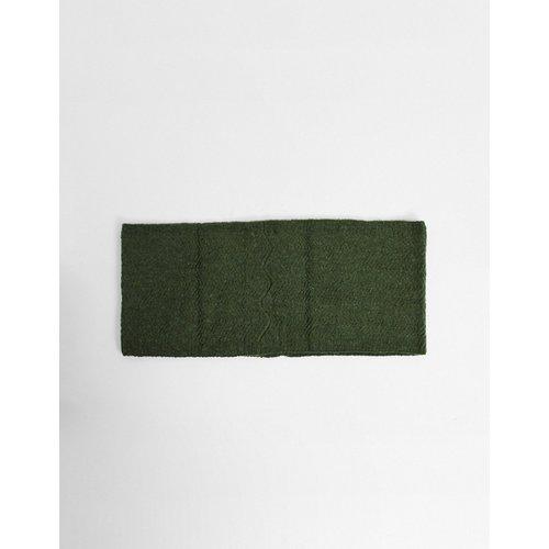 Écharpe-tube en tricot - Kaki - Pieces - Modalova