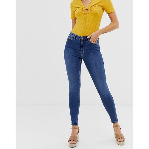 Jean skinny taille haute - moyen - Pieces - Modalova