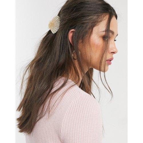 Pince à cheveux oversize motif coquillage - Pieces - Modalova