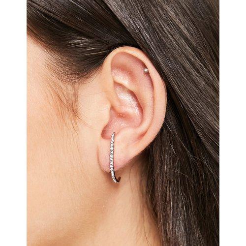Beauty - Boucles d'oreilles en plaqué or rose - Pilgrim - Modalova