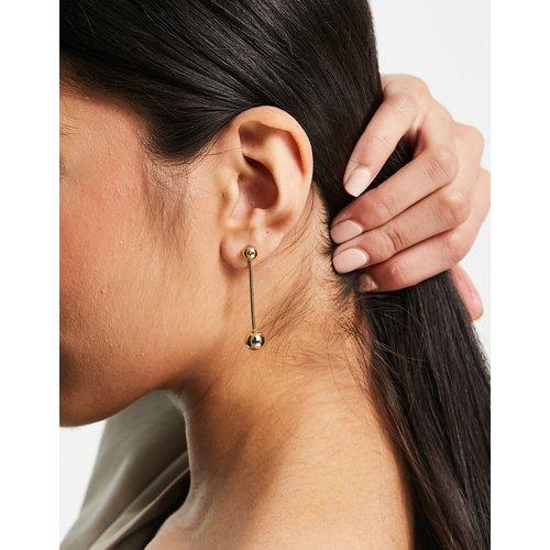 Karla - Boucles d'oreilles en plaqué or - Pilgrim - Modalova