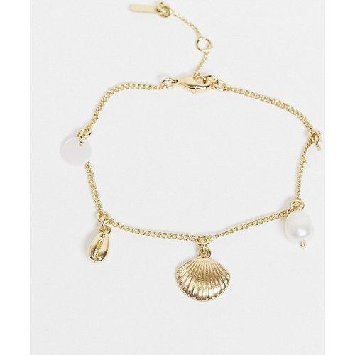 Love - Bracelet plaqué or - Pilgrim - Modalova