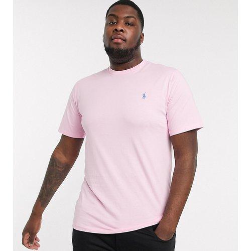 Big & Tall - T-shirt à logo joueur de polo - Polo Ralph Lauren - Modalova