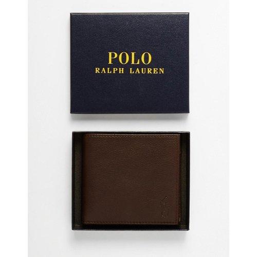 Portefeuille en cuir avec poche monnaie - Polo Ralph Lauren - Modalova