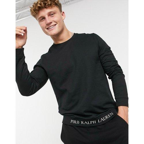 Sweat-shirt à bande logo inférieure - Polo Ralph Lauren - Modalova