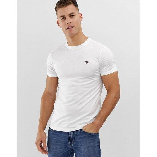 PS By Paul Smith - T-shirt ajusté avec logo à imprimé zèbre - PS Paul Smith - Modalova