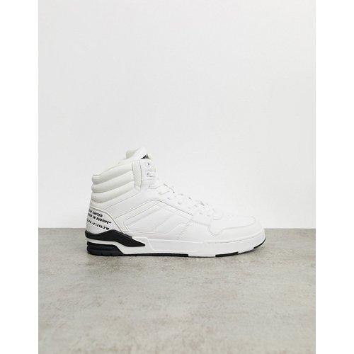 Baskets montantes - Blanc - Pull&Bear - Modalova