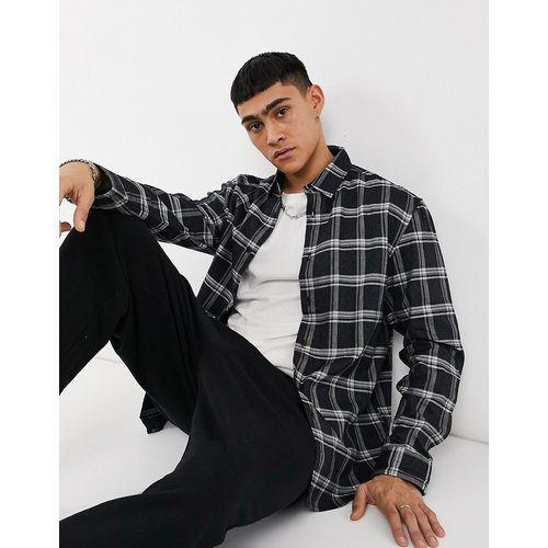 Chemise à carreaux - marine - Pull&Bear - Modalova