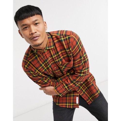 Chemise à carreaux - Rouille - Pull&Bear - Modalova