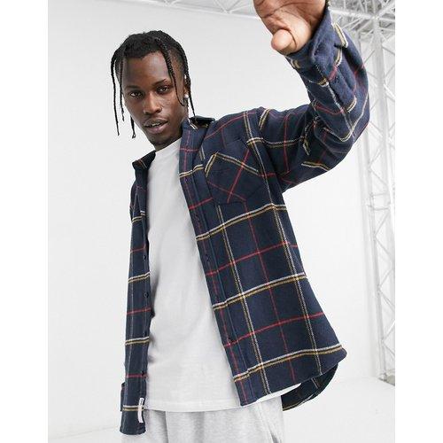 Chemise à carreaux tartan - Bleu - Pull&Bear - Modalova