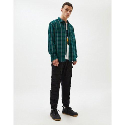 Chemise à carreaux - Pull&Bear - Modalova