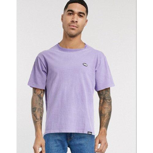 Join Life - T-shirt avec petit logo sur la poitrine - Violet - Pull&Bear - Modalova