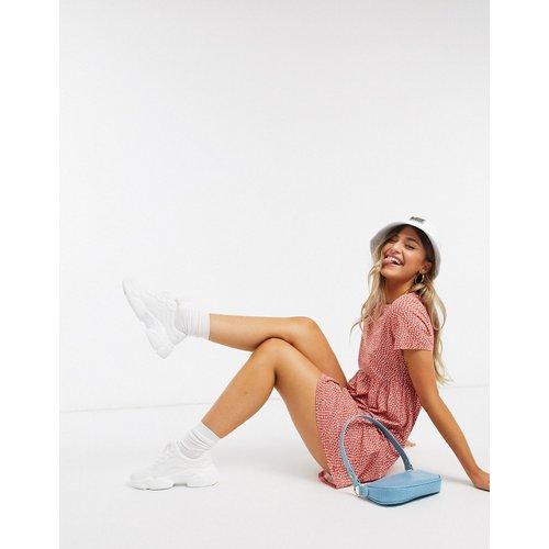 - Robe t-shirt à imprimé floral - Pull&Bear - Modalova