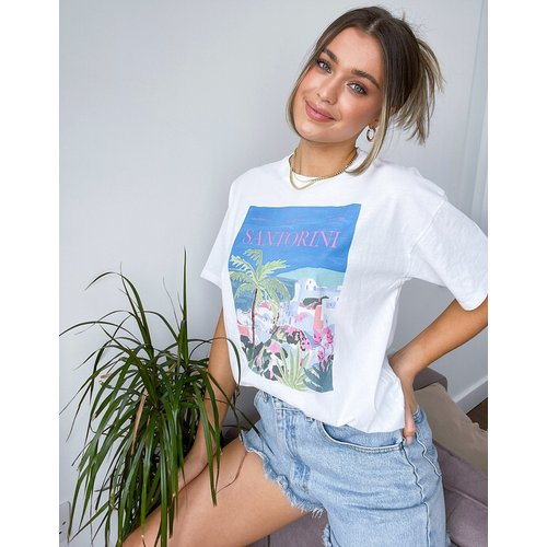 Santorini - T-shirt à motif - Pull&Bear - Modalova