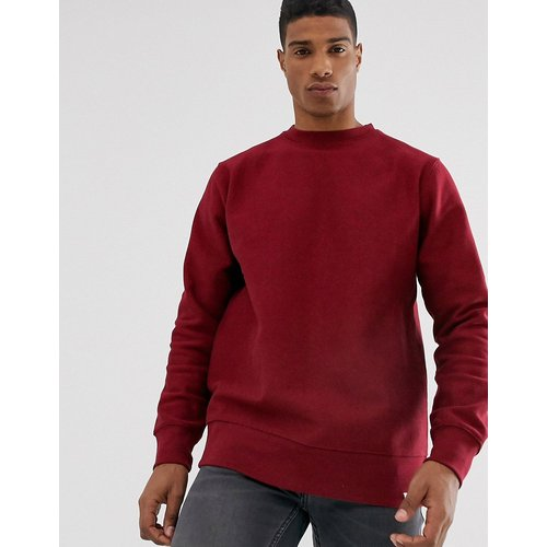 Sweat-shirt basique - Bordeaux - Pull&Bear - Modalova