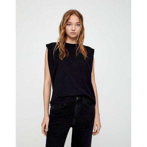 T-shirt à épaules volumineuses - Pull&Bear - Modalova