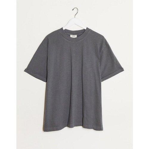 T-shirt - Gris foncé - Pull&Bear - Modalova