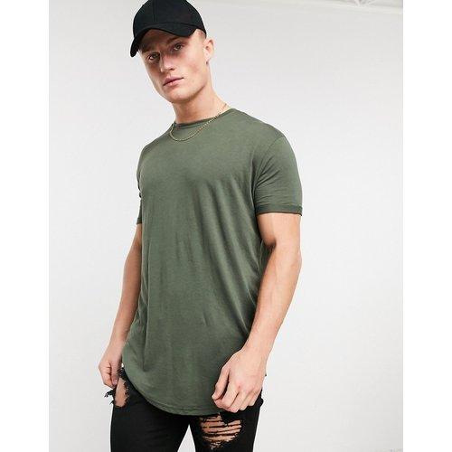 T-shirt long - Kaki - Pull&Bear - Modalova