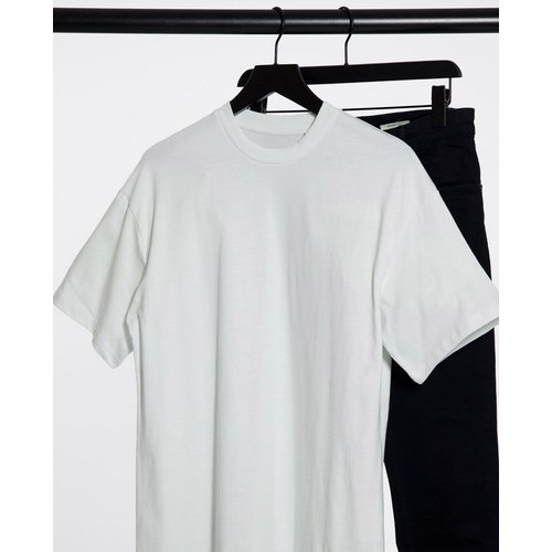 Pull&Bear - T-shirt oversize - Bleu - Pull&Bear - Modalova