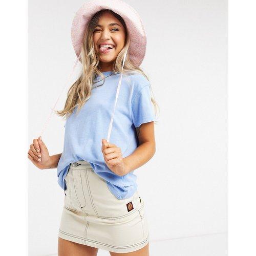 T-shirt oversize -Bleu clair - Pull&Bear - Modalova