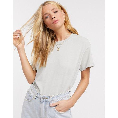 Pull&Bear - T-shirt oversize - Gris - Pull&Bear - Modalova