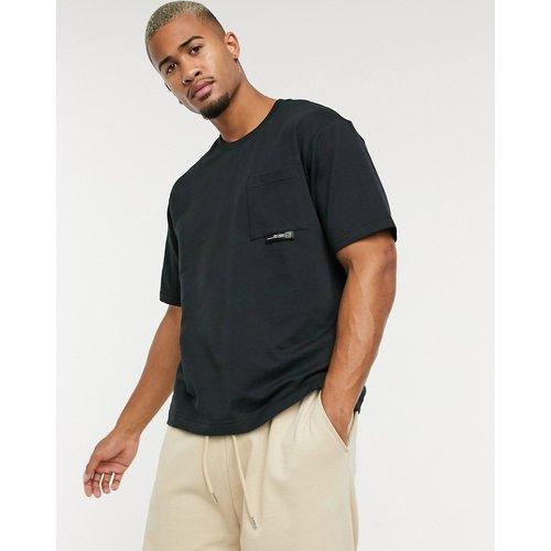 Pull&Bear - T-shirt oversize - Noir - Pull&Bear - Modalova