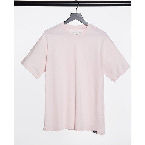 Pull&Bear - T-shirt oversize - Rose - Pull&Bear - Modalova