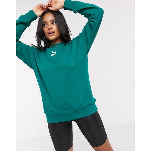 Classics - T7 -Sweat-shirt ras de cou - sarcelle - Puma - Modalova