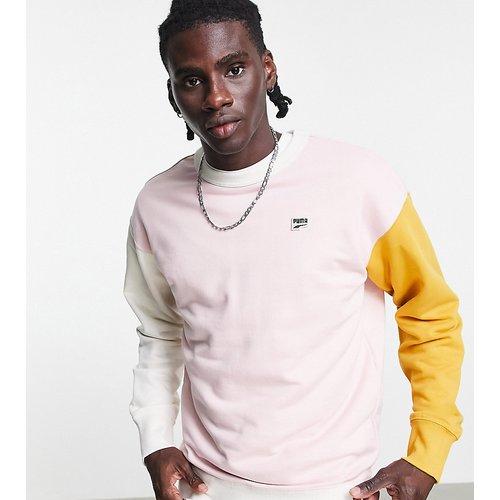 Downtown - Sweat-shirt color block - - Exclusivité ASOS - Puma - Modalova