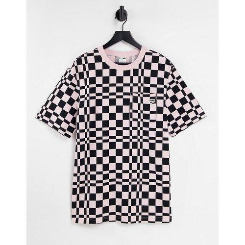 Downtown - T-shirt à carreaux - Noir et - Puma - Modalova