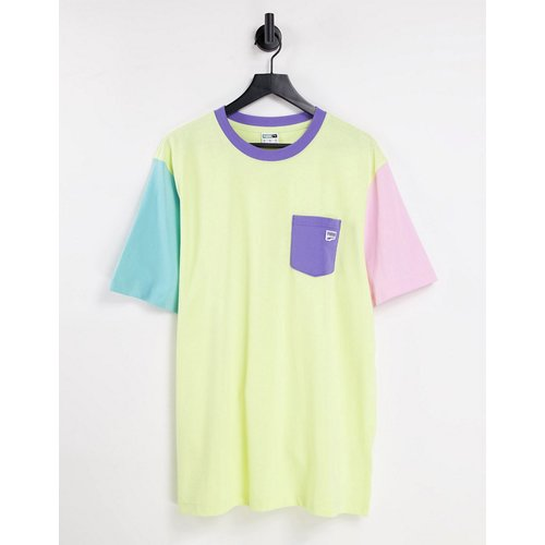 Downtown - T-shirt à poche - multicolore - Puma - Modalova