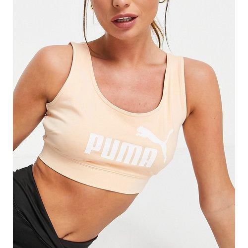 Essentials - Brassière à logo - Pêche - Puma - Modalova