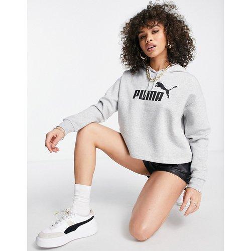 Essentials - Hoodie court à logo - Puma - Modalova