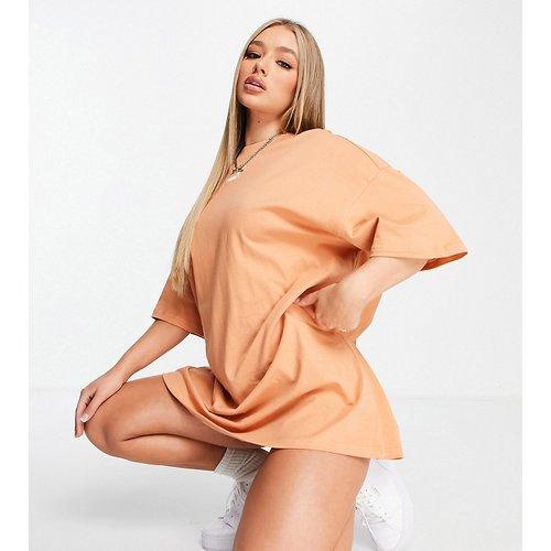 Essentials - Robe t-shirt - Brun roux - Puma - Modalova
