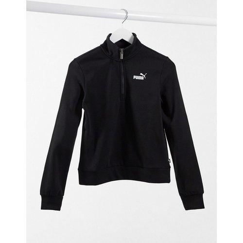 Essentials - Sweat-shirt à encolure partiellement zippée - Puma - Modalova