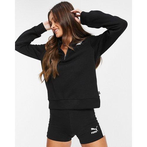 Essentials - Sweat-shirt à encolure zippée - Puma - Modalova