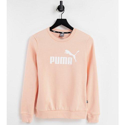 Essentials - Sweat-shirt avec logo - Pêche - Puma - Modalova