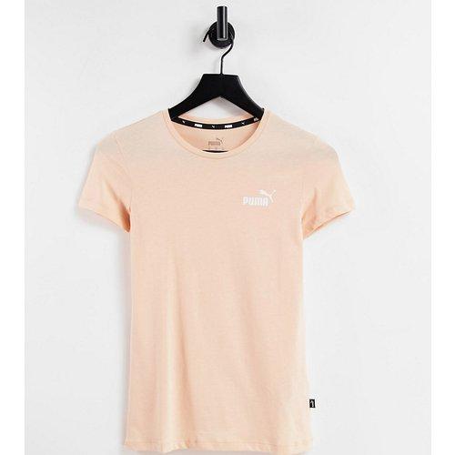 Essentials - T-shirt à logo - Pêche - Puma - Modalova