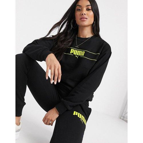 Long - Sweat-shirt ras de cou à manches longues - Puma - Modalova