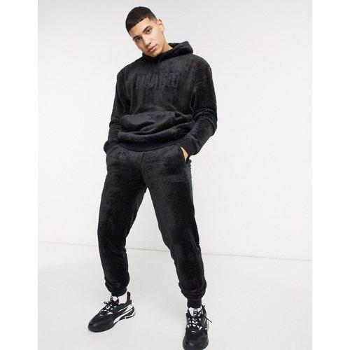 Pantalon de jogging duveteux à logo - Puma - Modalova