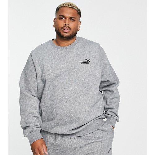 Plus - Essentials - Sweat-shirt à petit logo - Puma - Modalova