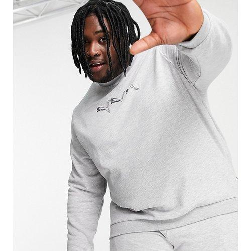 Plus - Exclusivité ASOS - Sweat-shirt à trois logos chat - Puma - Modalova