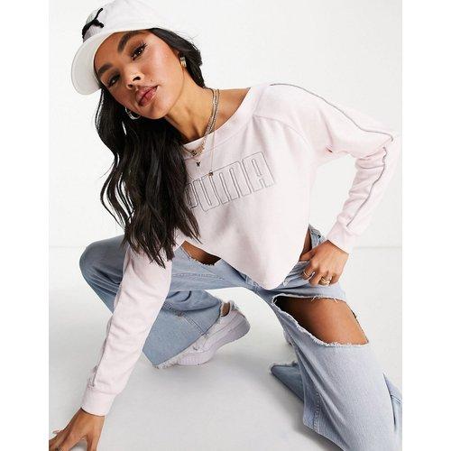 Sweat-shirt ras de cou court - Puma - Modalova