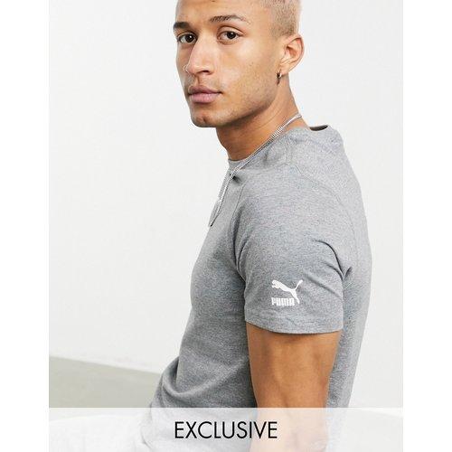 T-shirt à petit logo - chiné - Puma - Modalova