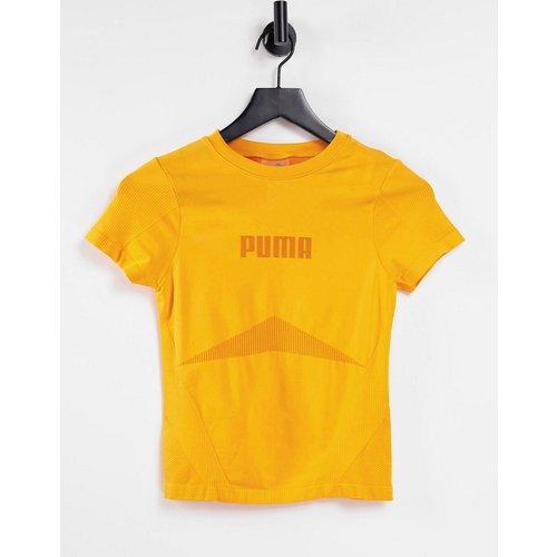 Training - Evoknit - T-shirt sans coutures - Orange - Puma - Modalova