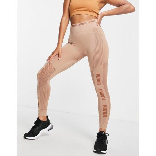 Training - Legging sans coutures en maille EvoKNIT - Moka - Puma - Modalova