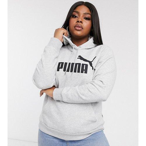 Plus - Essentials- Hoodieà logo - Puma - Modalova