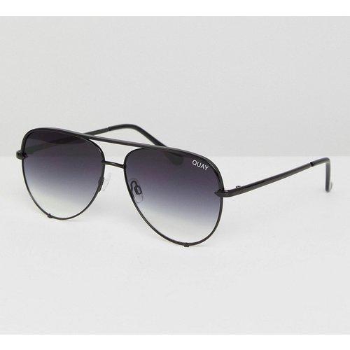 High Key - Petites lunettes de soleil aviateur - dégradé - Quay Australia - Modalova