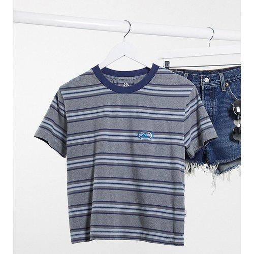 Acid - T-shirt à rayures - - Exclusivité ASOS - Quiksilver - Modalova