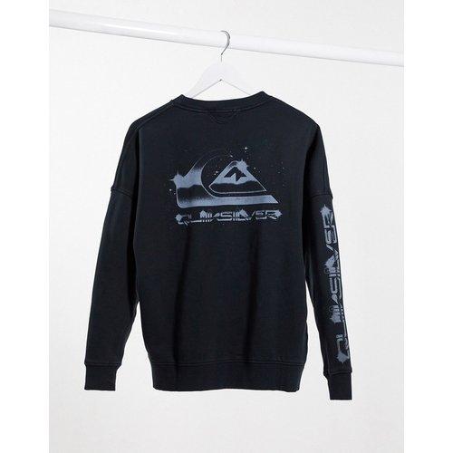 Sweat-shirt coupe carrée à logo - Quiksilver - Modalova